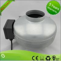 China Low Noise Inline Circular Duct Fan / Centrifugal Duct Fan High Pressure wholesale