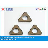 China P20 P30 Cemented Carbide Inserts shim , Cutting Tool Inserts wholesale