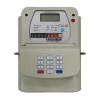 China STS Steel Material Smart Keypad Prepaid Gas Meter With Gas Vending System tamper protection wholesale