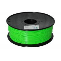 China Blue green to yellow green color 3d printer filaments ABS 1.75mm 1kg Material MakerBot/RepRap/UP/M wholesale