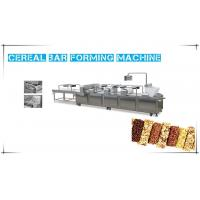 China Chocolate Cereal Bar Making Machine , Automatic Cereal Bar Production Line wholesale