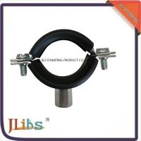 China Zinc Plating Cast Iron Pipe Mounting Clamps , Black Iron Pipe Hangers wholesale