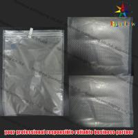 China Embossed PET Vacuum Seal Storage Bags With Zip Lock For Cookies wholesale