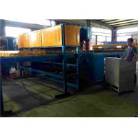 China Pre - Cut Line Wire Feeding Fence Mesh Welding Machine PLC Controlled wholesale