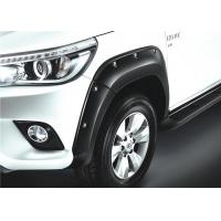 China Modified Over Road Style Fender Flares for Toyota Hilux 2015 2016 2017 on sale