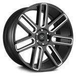 China luxury car 20 inch automotive aluminium black machined alloy wheels wholesale