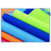China Big Roll Spun Bonded Non Woven , 100% PP Material Embossed Colorful wholesale