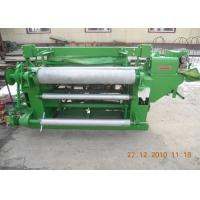 China Stainless Steel Welded Wire Mesh Machine For Rolled Wire Mesh Green Color on sale