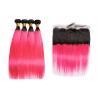 Buy cheap Brazilian Long 1BPink Human Hair Straight No Tangle No Shedding from wholesalers