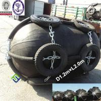 China Inflatable marine rubber pneumatic fender for ship and dock wholesale