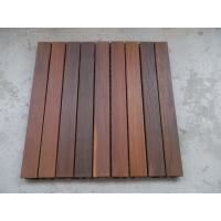 China IPE Decking Tiles 600mm x 600mm wholesale