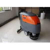China Low Noise Cleaning Width Battery Powered Floor Scrubber Not  For Soft Carpet wholesale