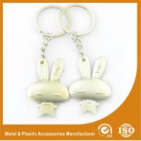 China Male and Female Rabbit Couples keychains For Valentine Day Gift wholesale