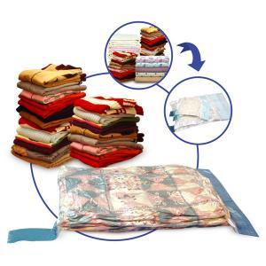 China PE Plastic Clothes Vacuum Bag, 130*100cm,130*90cm,  double slide zipper wholesale