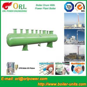 China 100 ton SA516 GR70 boiler mud drum for natural gas industry wholesale
