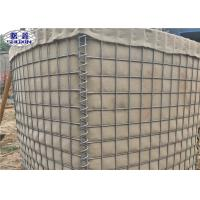 China Galvanized Connectable Sand Filled Walls SX-1 For Semi-Permanent Levee on sale