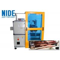 China Horizontal Toroid Full Automatic Coil Winding Machine For Big Wire Electric Motor Stator wholesale