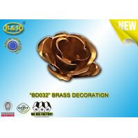 China Ref No BD032 Brass Flower Tombstone Decoration Bronze Blossom Material Copper Alloy wholesale