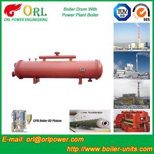 China Cement industry steam boiler mud drum TUV wholesale