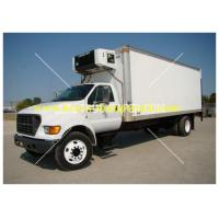 China Howo Freezer Box Truck 24v 2 tons 4X2 with electrically hydraulic control wholesale