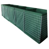 China Hesco Barrier mil 3 Hesco Bastion Barrier on sale