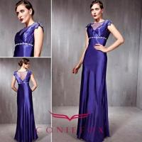 China blue cocktail dresses on sale ,  low straight cocktail gowns for wholesale wholesale