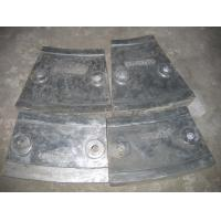 China Cr12 Mill Liners White Iron Castings for Coal Mill , Metal Casting Supplies wholesale