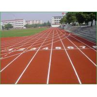 China SGS Certification EPDM Colored Rubber Running Track Surface on sale