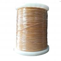 China TIW Fine Enamelled Copper Wire PVC Insulation Rust Resistant Excellent Durability on sale