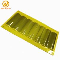 China Dustproof Plastic Yellow / Blue Delineator Sign Sheet For Tunnel Road Construction wholesale
