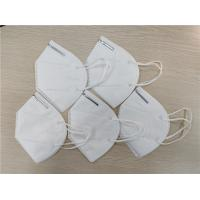 China Anti Dust Safety Breathing KN95 Dust Mask Disposable White Face Shield Mask wholesale