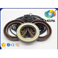 China HPV102 HPV118 Pump Seal Kit for Hitachi ZAXIS200-3 Main Pump Black + Brown on sale