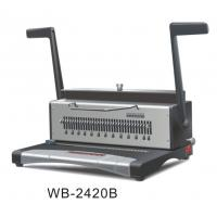 China Wire Electric Binding Machine 120 Sheets For Notebook / Workbook wholesale