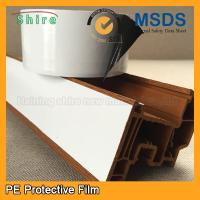 China Black & White Windshield Protection Film , UPVC Window Glass Adhesive Film wholesale