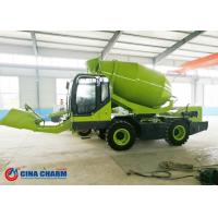 China Strong Power 1m3 Self Loading Concrete Mixer Promote Faster High Fuel Efficient on sale