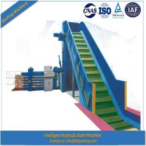 China Automatic hydraulic horizontal press baler machine for occ cardboard paper wholesale