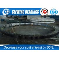China Nsk High Speed Ball Bearing Slewing Ring Outer Gear For Ladle Turret wholesale