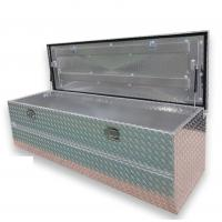 China Dust Proof Trailer Tongue Mounted Tool Box For Pickup Truck Bed With Lock wholesale