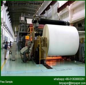 China c1s art paper label application wholesale
