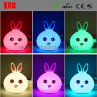 China Plastic Made Rabbit Shape Desk Light For Study wholesale