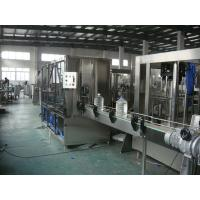 China 800 bottles/hour Pure Water Bottle Filling Machine For Big Bottle Polyester Bottle wholesale