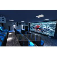 China Cinema House 4D Movie Theater Electronic System Simulation Rides 50 People wholesale