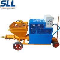 Buy cheap High Power Mortar Mixer Machine Diesel Wall Putty Coating Rendering Machine from wholesalers