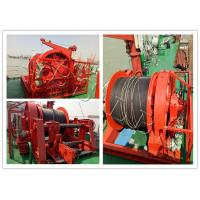 China Ship Boat Marine Windlass Winch For Mooring Lifting Winch With Lebus Groove Drum wholesale