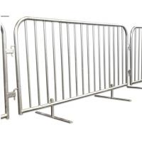 China Steel Metal Fence Accessories Isolation Temporary Barrier For Ticket Line wholesale