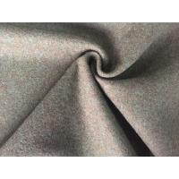 China Classic Style Felted Wool Fabric , Woven Flannel Fabric For Baby Quilts wholesale