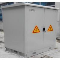 China Waterproof Double Wall Galvanized Steel Outdoor Battery Cabinet / IP55 Base Station Cabinet wholesale