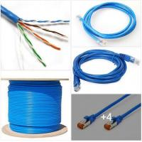 Quality Computer 4P LAN Cat5e UTP Cable 24AWG Network Ethernet Cable for sale