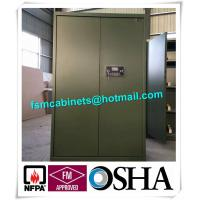 China Gun Safety Storage Hazardous Storage Cabinets , Weapon Safety Storage Cabinets For Gun wholesale