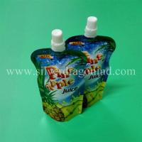 China Stand up spout pouch for 250ml pineapple juice packing wholesale